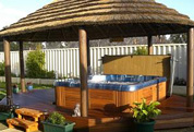 Thatch Gazebo and Spa