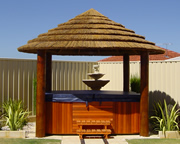 Spa Thatched Gazebo