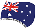Aussie owned and made logo