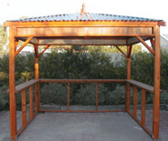 Spa Gazebo bar tops