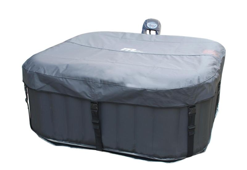 Alpine spa with lockable lid