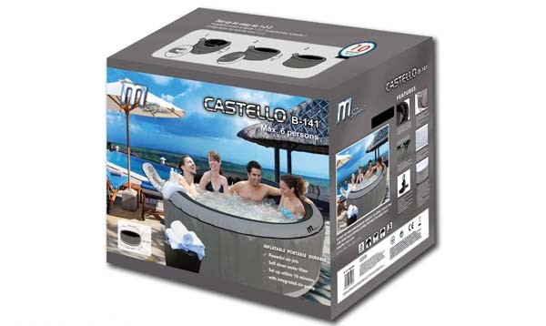 Inflatable spa box in Perth